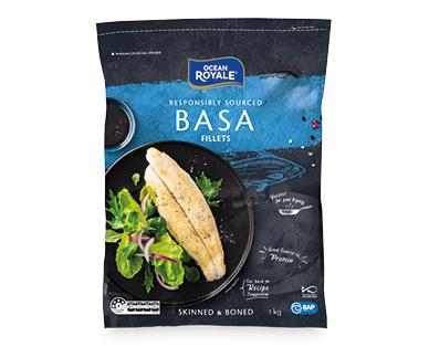 Ocean Royale Basa Fillets (Frozen) 1kg