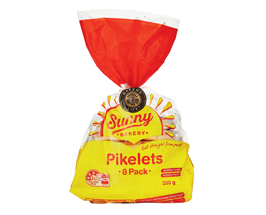 Bakers Life Sunny Pikelets 8pk/200g