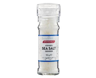 Stonemill Sea Salt Iodised Grinder 110g
