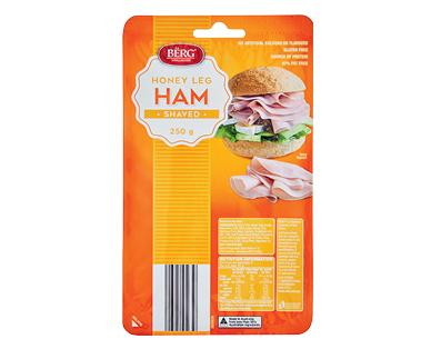 Berg Shaved Honey Ham 250g