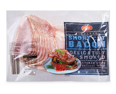 Berg Short Cut Bacon Rindless 1kg