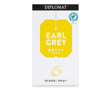 Diplomat Tea Bags Earl Grey 50pk/100g