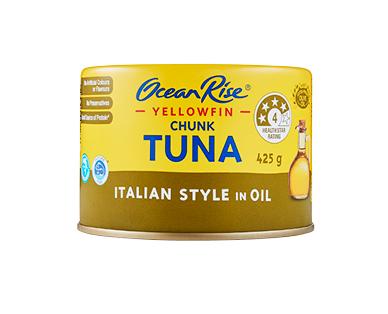 Ocean Rise Yellowfin Tuna Chunks In Oil 425g