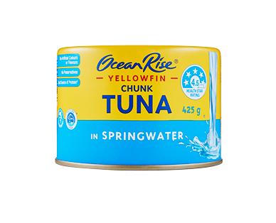 Ocean Rise Yellowfin Tuna Chunks In Springwater 425g