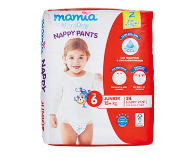 Mamia Nappy Pants Junior 24pk
