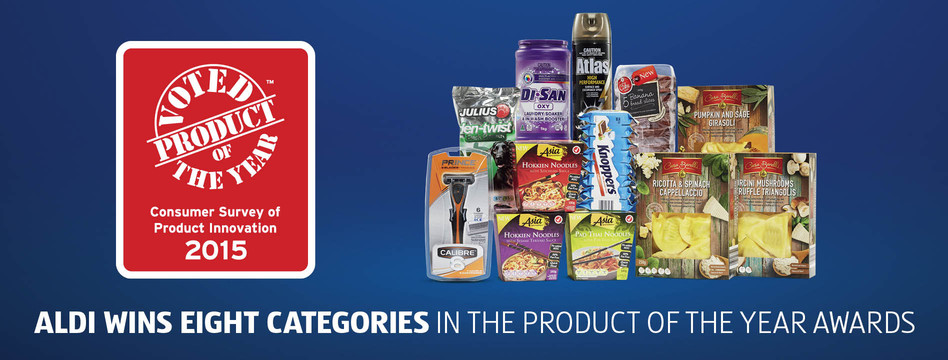 box locations noodle to is ALDI have won 2015 in Australia the eight delighted categories