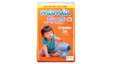 Mamia Crawler Unisex Nappies 6-11kg 56pk