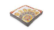 Embroidered Floor Cushion 60cm x 60cm + 10cm - Agra