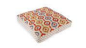 Embroidered Floor Cushion 60cm x 60cm + 10cm - Madurai