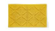 Luxury Cotton Bath Rug 60cm x 100cm - Golden Rod