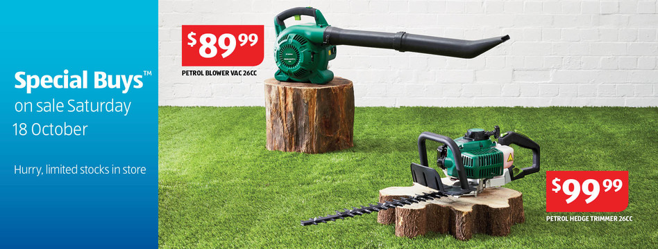 Aldi special buys on gardening tools lawn mowers for Aldi gardening tools 2016